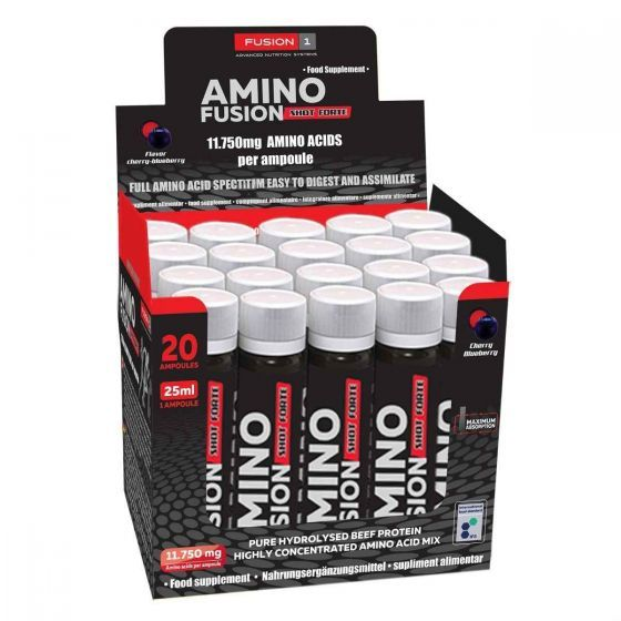 Amino Fusion Liquid Shot 20x25ml